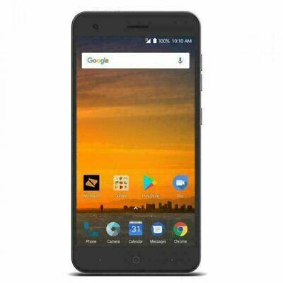 $37.67 • Buy ZTE Blade X - 16GB- Black (Cricket) Exceptional/Good Condition!