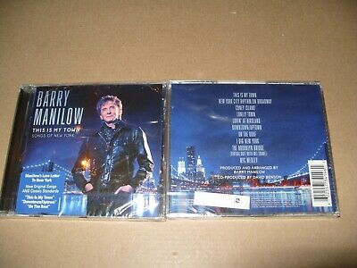 Barry Manilow  This Is My Town: Songs Of New York 2017 Cd New & Sealed (L.S.) • 3.39£