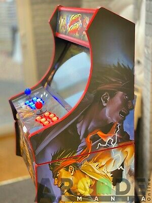 Full Size Arcade Machine - Classic Street Fighter Themed - 3,188 Classic Games  • 599£