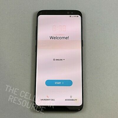 $ CDN229.26 • Buy Samsung Galaxy S8 SM-G950U 64GB Midnight Black Unlocked *Heavy Burns