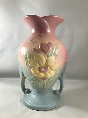 $37.99 • Buy Vintage Collectible Hull Art Pottery Pink Magnolia Vase 9  * (C4)