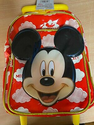 Mickey Mouse Mini Travel Cabin Wheeled Bag Trolley (5055114243268) • 12.99£
