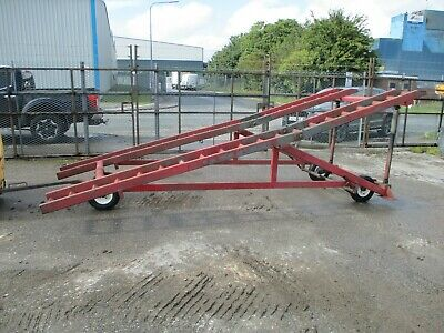 Loading Ramp Container Ramps Dock Forklift Yard Mobile Car Plant 2 4 Post Work • 2,150£