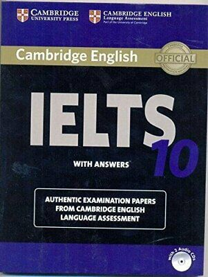 £17.38 • Buy CAMBRIDGE IELTS 10 STUDENTS BOOK WITH ANSWERS WITH AUDIO By Cambridge English