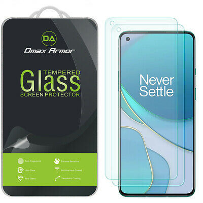AU10.67 • Buy 2X Dmax Armor Tempered Glass Screen Protector For OnePlus 8T / 8T Plus 5G