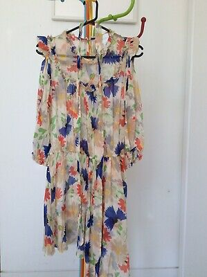 AU34 • Buy Alice Mccall Silk Dress Size 14 - Fit 10 & 12 Best