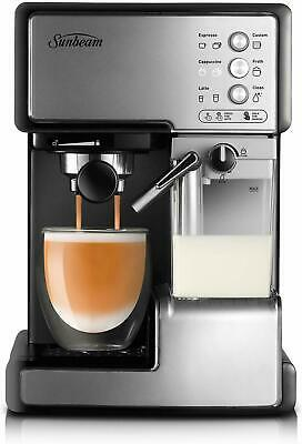AU209.99 • Buy Sunbeam EM5000 Cafe Barista Coffee Machine With Milk Frother FAST SHIPPING