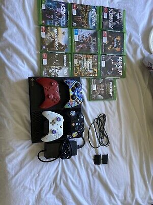 AU320 • Buy Xbox One Console, 1 TB, 4 Controllers, 10 Games And 2 Controller Charging Packs