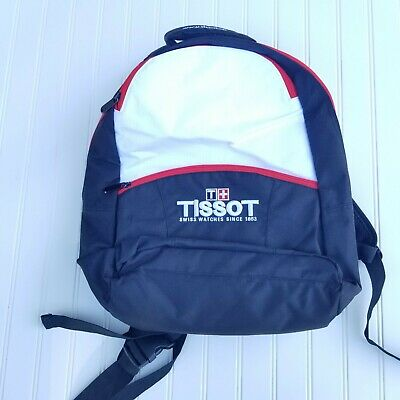 NEW Tissot Swiss Watches, Black, Red & White Backpack - Brand New! • 28.59£