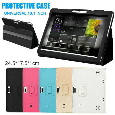 AU13.08 • Buy 10.1  Leather Tablet 360° Protective Stand Holder Case Shell Cover For Tablet PC