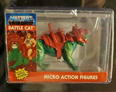 $17.99 • Buy BATTLE CAT / Worlds Smallest Micro Action Figure MASTERS OF THE UNIVERSE
