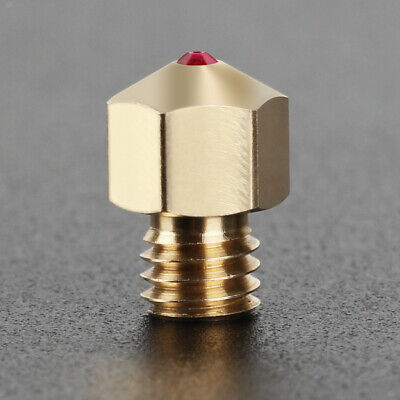 AU41 • Buy MK8 Extruder Hotend Kit Ruby Nozzle 0.4mm MK8 Brass Nozzle For 3D Printers