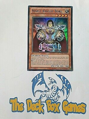 Yugioh: Noble Knight Borz, Shsp, Mixed Editions, Super Rare • 2.40£