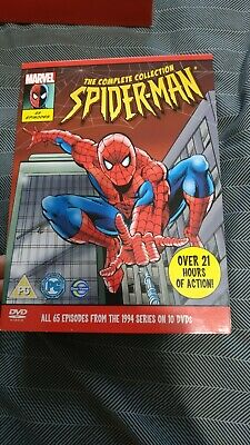Spiderman The Complete Collection 90s Cartoon G To VGC • 139.99£