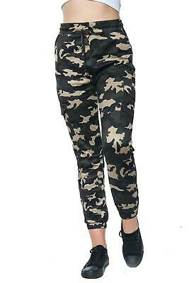 £8.49 • Buy Ladies Women's Camouflage Leggings 4 Side Pockets Stretchy Full Length Trousers