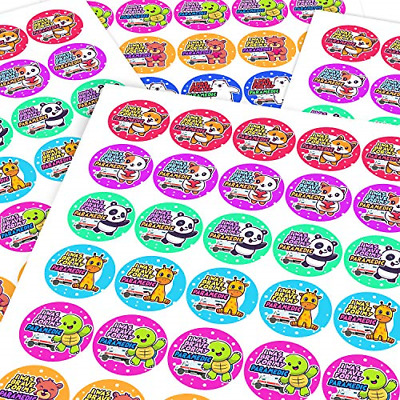 Chunky Hamster Paramedic Brave Cute Animals Sticker Labels Children Parents Kids • 16.48£