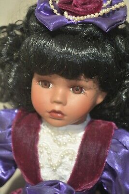 $ CDN52.27 • Buy African American Porcelain Dolls-- Melissa Jane Victorian Collection--RARE !