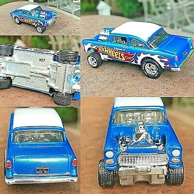 $33.95 • Buy Hot Wheels Exclusive '55 Chevy Bel Air Gasser From Display Case Car Only! Mint!