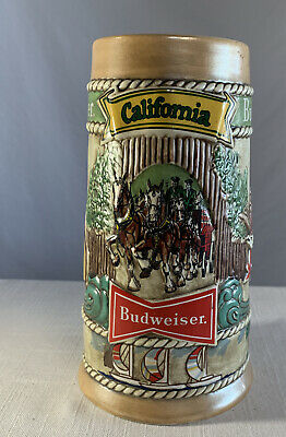 $ CDN22.24 • Buy Budweiser California Beer Stein Mug Collectible 1981 Limited Edition