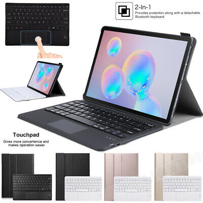 AU42.99 • Buy For Samsung Galaxy Tab S6 10.5/S6 Lite 10.4 Touched Wireless Keyboard Case Cover