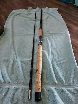 $80 • Buy 1-Garcia Conolon GSW-580 Vintage 8 Ft Spinning  Fishing Rod 2 PC Collectible USA