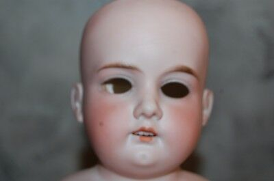 $ CDN45.75 • Buy Antique A M 3 DEP 370 Bisque Porcelain Doll Head Germany Armand Marseille Old