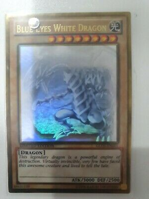 AU150 • Buy Yugioh Card - Blue-Eyes White Dragon *Ghost Gold Rare* GLD5-EN001 (NM)