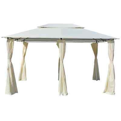 AU249.95 • Buy Garden Gazebo With Curtains Water Resistant Outdoor Marquee Elegant Party Tent