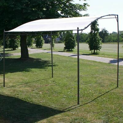 AU168.95 • Buy Steel Frame Gazebo Garden Patio Sun Shade Fabric Canopy Outdoor Picnic Shelter