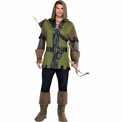 £27.19 • Buy Prince Of Thieves Robin Hood Archer Sherwood Mens Adults Fancy Dress Costume