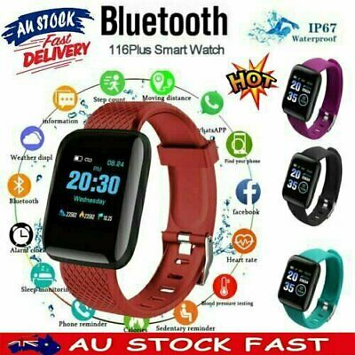 AU13.26 • Buy Smart Watch Band Sport Activity Fitness Tracker  Kids Fit Bit For Android IOS AU