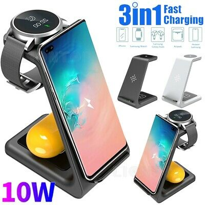 AU46.95 • Buy Wireless Charger Dock For Samsung Note 10 20/20 Ultra/Samsung Watch/Galaxy Buds