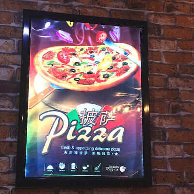 A1 Size Led Frame Advertising Takeaway Restaurant Menu Light Box Board • 185£