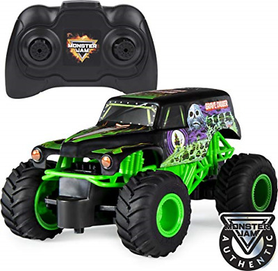 RC Grave Digger 1:24 Scale Truck Kid Children Toy Remote Control NEW • 27.66£