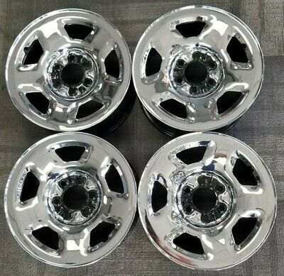 $400 • Buy 17  FORD EXPEDITION, F-150 PICKUP OEM CHROME SKIN SEEL WHEELS 2003-2008 17x7 1/2