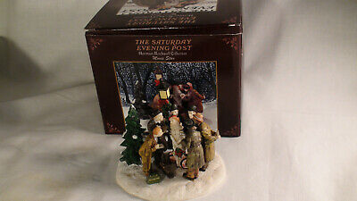 $ CDN9.19 • Buy Norman Rockwell Collection CHRISTMAS CAROL The Saturday Evening Post Figurines