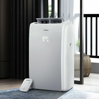 AU405.95 • Buy Home Portable Air Conditioner Unit W/ Remote Cooling Mobile Dehumidifier White