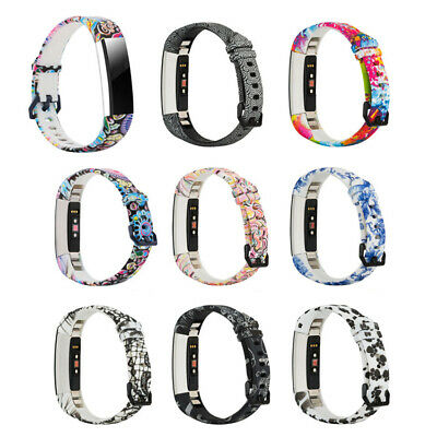 AU5.15 • Buy For Fitbit Alta / HR / ACE Strap Replacement TPU Metal Buckle Watch Wrist Band