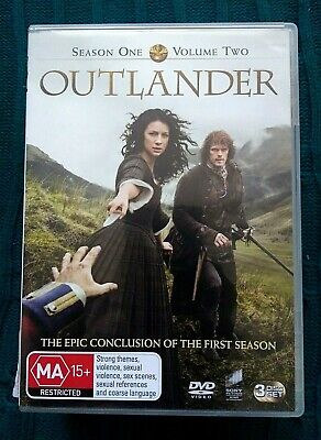 AU15 • Buy Outlander - Season One, Volume Two - Dvd, 3-disc Set- R-4- Like New-free Postage
