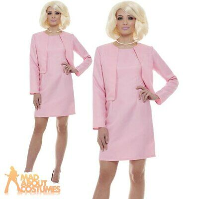 Adult Thunderbirds Lady Penelope Costume 1960s TV Book Day Fancy Dress Outfit • 32.95£