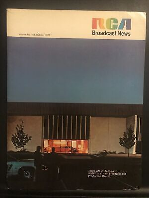 $15.95 • Buy RCA BROADCAST NEWS  Vol. 159 October 1976 Night Life In Tacoma