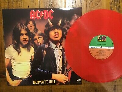 AU90 • Buy Ac/dc 12  Coloured Vinyl  Highway To Hell Rare