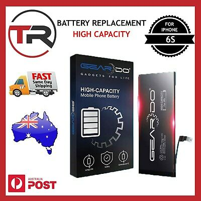 AU22.99 • Buy New Replacement Battery For IPhone 6s Battery High Capacity +Tool 3000mAh Geardo