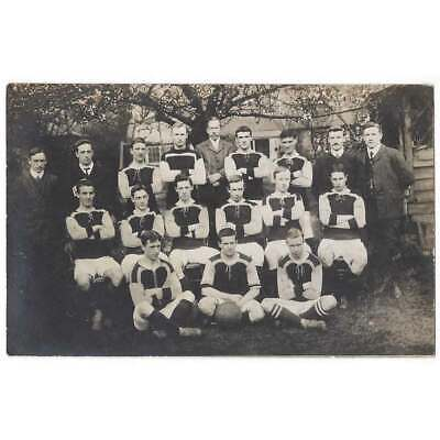 SOCIAL HISTORY Unidentified Football Team Group RP Postcard Unused • 4.95£