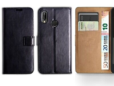 Case For Huawei Y7 2018 PU Leather Book Case Cover Wallet Flip Card Holder Slim • 2.75£