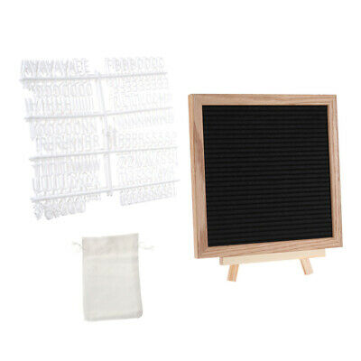 Vintage Wooden Letter Board Changeable Personalised Message Set Notice Board HOT • 11.29£