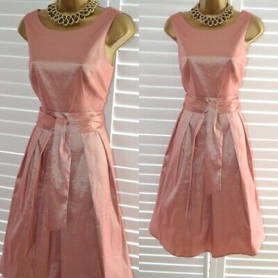 $ CDN70.78 • Buy ~ ARIELLA ~ BNWT Pink Shimmer Fit & Flare Dress Size 14 Mother Of The Bride