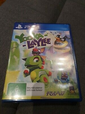 AU19.95 • Buy Yooka Laylee PS4
