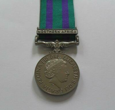 £14.95 • Buy Medals - Campaign Service Medal 2008. With Northern Africa Clasp. - Full Size.