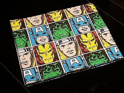 Marvel DC Super Hero Fat Quarter 100% Cotton 45cm X 56 Cm • 3£